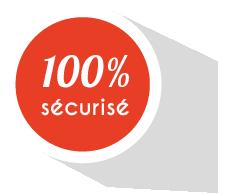 100% sécurisé